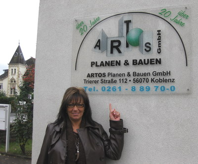Unser Bauträger, die Fa. Artos Planen & Bauen GmbH